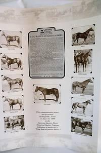 KING RANCH QUARTER HORSES - COMMEMORATIVE POSTER