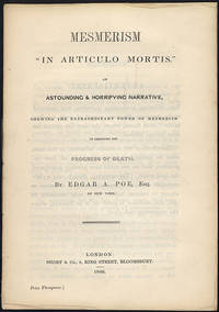 Mesmerism in articulo mortis