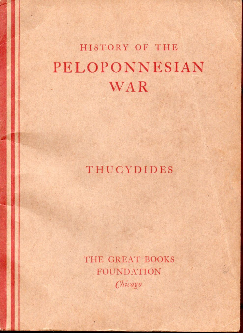 the history of the peloponnesian war by thucydides Much of what we know about the peloponnesian war comes to us from the greek historian thucydides who lived through the war and the peloponnesian war: history.