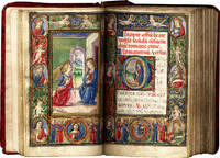 image of Book of Hours (Use of Rome); in Latin, illuminated manuscript on parchment