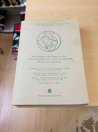 image of Environment and Human Action: Proceedings, 8th International Conference of the IAPS, July, 1984