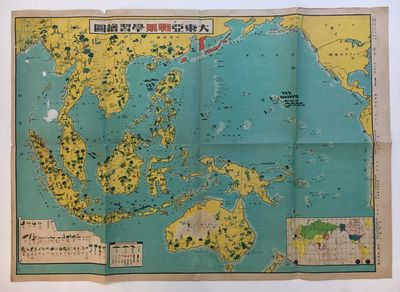 ABAA | Pacific War Learning Map by JAPANESE MILITARY ...