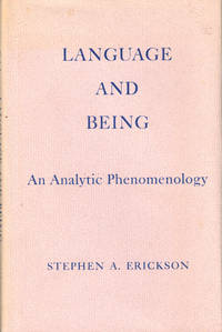 Language and Being: An Analytic Phenomenology