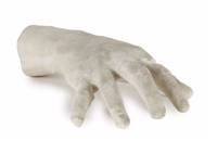 """""""Boogie-woogie on St. Louis Blues"""" - Plaster Cast Hines's Right Hand"""
