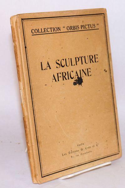 Paris: Les Éditions G. Crès & Cie, 1922. 32p. + 48 b&w plates, text in French, pencil notes denoti...