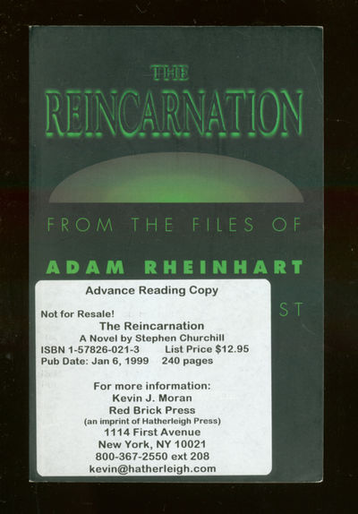 New York: Red Brick, 1999. Softcover. Fine. First edition, Advance Reading copy. Fine in wrappers.