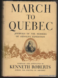March to Quebec:  Journals of the Members of Arnold's Expedition.