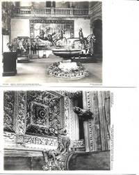 image of Arms and Armory Exhibit at MOMA-Views on 2 White Bordered Undivided Reverse Postcards. Unused