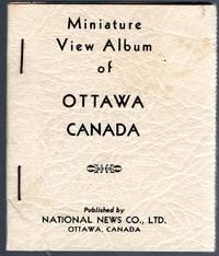 image of Miniature Postcard View Souvenir Album of Ottawa Canada