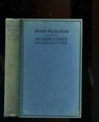 MODERN ESSAYS OF VAIOUS TYPES