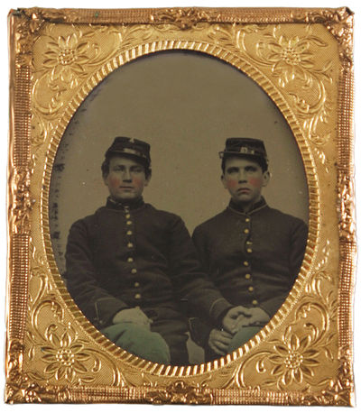 A Remarkable Sixth Plate Tintype of...