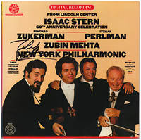 From Lincoln Center: Isaac Stern 60th Anniversary Celebration. (Vinyl LP)
