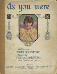 As You Were A Fantastic Review by Arthur Wimperis. (Adapted from Pir's Plus ça Change). [Piano-vocal score]