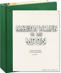 Amazon Women on the Moon (Original production plan binder for the 1987 film)