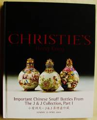 Important Chinese Snuff Bottles from the J & J Collection, Parts 1 Through 5