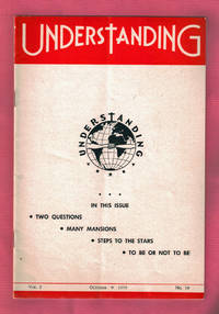 Understanding - October, 1956. UFO, New Age / from the Collection of Max Miller