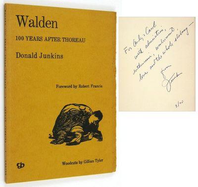 Boston: Yorick Books. (1969). Inscribed by Junkins: