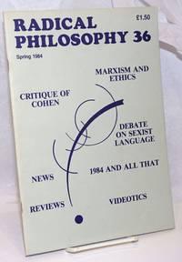 image of Radical Philosophy: No 36, Spring 1984