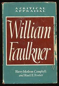 image of William Faulkner: A Critical Appraisal