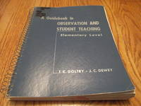 A Guidebook in Observation and Student Teaching; Elementary Level