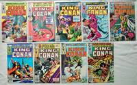 Lot 9 Marvel King Conan comics 1980 No. 2, 3, 4, 5, 6, 7, 8, 9, 10