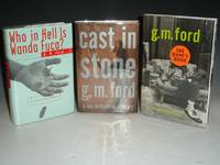 image of Who in Hell is Wanda Fuca?; Cast in Stone and The Bum's Rush (author's First, Second and Third Book, each signed)