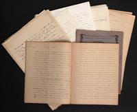 [Manuscrits autographes pour partie inédits] Contes et proses diverses