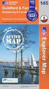 image of Guildford and Farnham (OS Explorer Map Active)