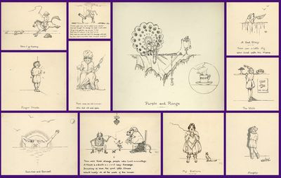 A Series of 10 Original Whimsical...
