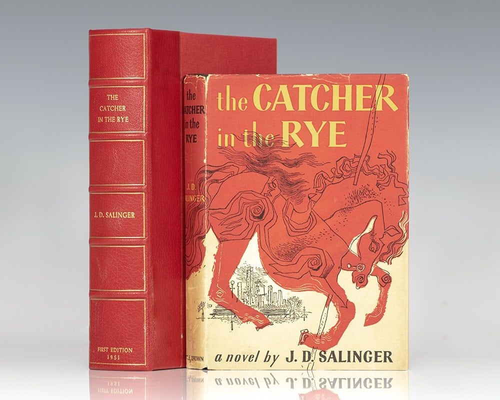 The Catcher In The Rye By Jd Salinger First Edition 1951 From