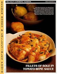 image of McCall's Cooking School Recipe Card: Fish, Seafood 43 - Fillets Of Sole  Duglere : Replacement McCall's Recipage or Recipe Card For 3-Ring Binders  : McCall's Cooking School Cookbook Series