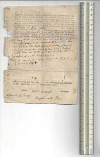 image of Two deeds for Hancock County being settled one– 1797; the second one 1794. Rare early American ephemera.