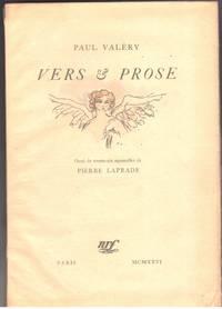 Vers et Prose, orne de trente-six aquarelles de Pierre LaPrade.
