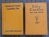 image of CHARLIE CHAN CARRIES ON / FIFTY CANDLES (with THE AGONY COLUMN).  2 BOOKS IN TOTAL.