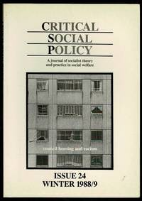 image of Critical Social Policy Issue 24 Winter 1988/9
