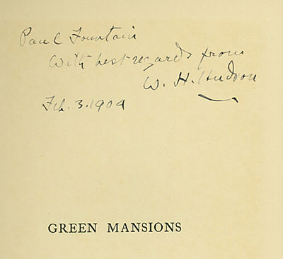 London: Duckworth, 1904. Gilt green cloth. Very minor handsoiling to the cloth, otherwise an unusual...