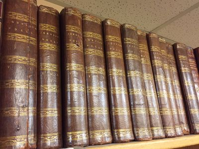 London: J. Buckland, J Rivington et al., 1787. First Collected Edition. Hardcover. 8vo, 11 volumes; ...