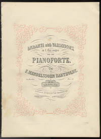 [Op. 82]. Andante with Variations, [Piano solo] in E flat major for the Pianoforte, Op. 82 Posth: Works, No. 10