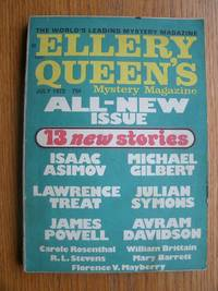 Ellery Queen's Mystery Magazine July 1972