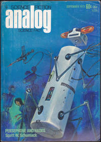 Analog Science Fiction / Science Fact, September 1973 (Volume 92, Number 1)