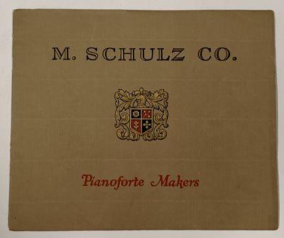 SCHULZ PIANOS.; M. Schulz Co....