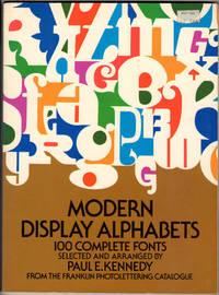 Modern Display Alphabets: 100 complete fonts