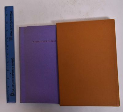 Barre, VT: Barre Publishing, 1970. Limited to 900 signed and numbered copies. Softcover. VG, ccontai...