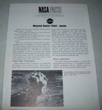 NASA Facts NF-23: Manned Space Flight, Apollo