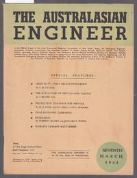 image of The Australiasian Engineer : March 1944