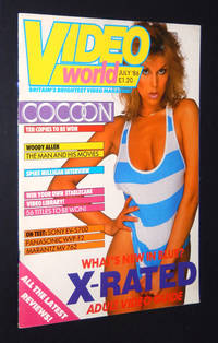 Video World, July 1986, Britain's Brightest Video Magazine including X-Rated Adult Video Guide