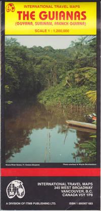 The Guianas map (Guyana, Surinam, French Guiana) (International Travel Maps, 683)
