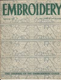 Embroidery Autumn, 1951.  The Journal of the Embroiderers' Guild