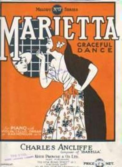 Marietta by Ancliffe C - from Music by the Score and Biblio.co.uk