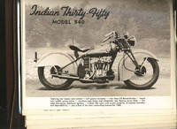 SALESMAN'S ALBUM With 60 PHOTOGRAPHIC IMAGES Of INDIAN MOTORCYCLES